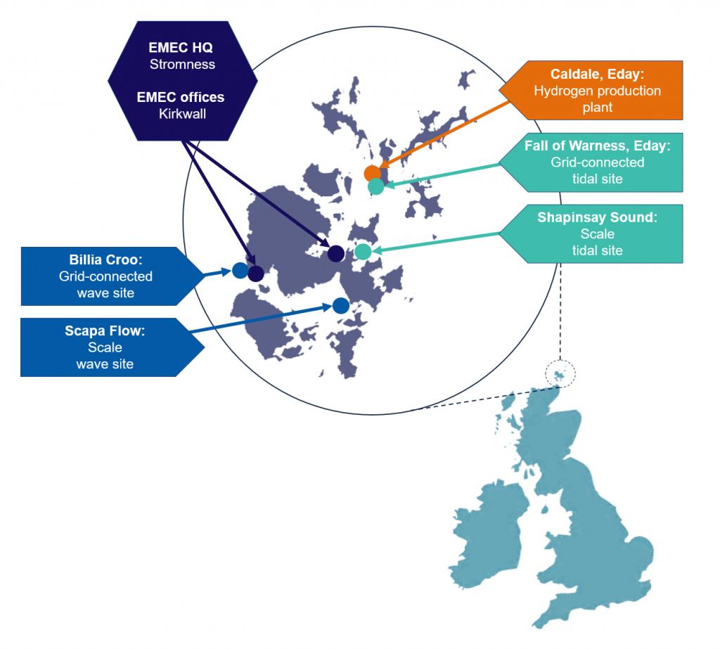 2020 EMEC Orkney map