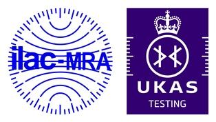Accreditation Symbol UKAS Testing
