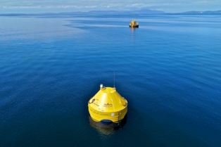 CorPower and EMEC microgrid at EMEC Scapa Flow test site (Credit Colin Keldie, courtesy of WES)