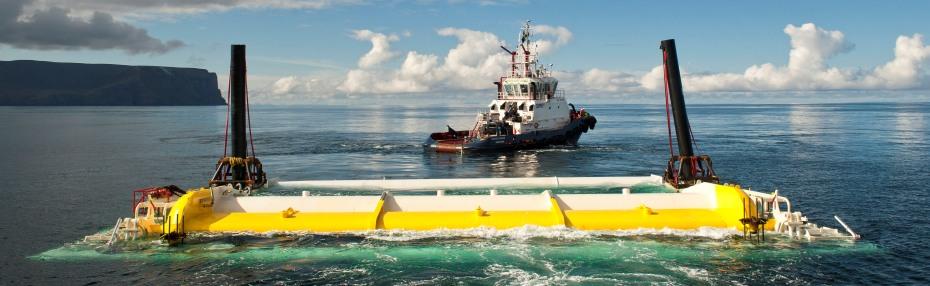 Aquamarine Power's Oyster 800 wave energy device