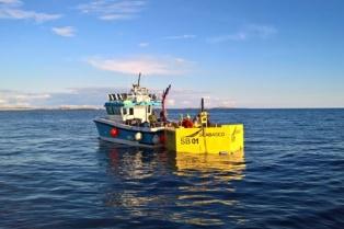 Seabased buoy installation