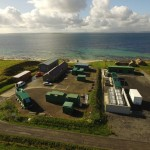 EMEC Caldale substation and hydrogen plant (Credit Orkney Sky Cam)