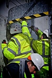 EMEC operations team performing routine maintenance on Hydrogen plant on Eday (credit Colin Keldie)