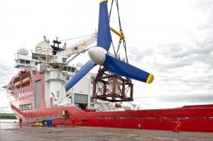 AR-1000 tidal turbine (Image Atlantis Resources Corporation)