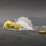 Aquamarine Powers Oyster 800 wave energy machine in operation (Image Aquamarine Power)
