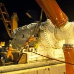 Deployment of HS1000 tidal turbine at EMEC test site (Image Andritz Hydro Hammerfest)