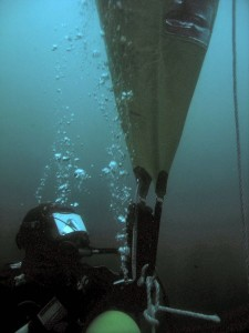 Diver works at the EMEC test site (Image Mike Brookes-Roper) (2)