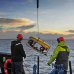 ROV deployment (Image Mike Brookes-Roper)