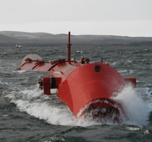 The first generation Pelamis P1 (Image Pelamis Wave Power)