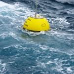 Waverider buoy at sea (Image EMEC)