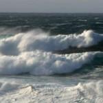 Waves at the Billia Croo wave test site (Image EMEC)