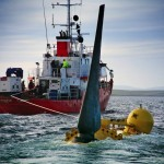Alstom's tidal turbine being transported to EMEC test site (Image Alstom)