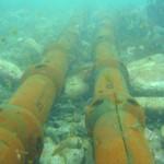 Armoured sub sea cables (Credit EMEC)