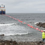 Cable laying at EMEC test site (Credit Mike Brookes-Roper)