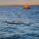 Magallanes test turbine installation at EMEC (photo: Colin Keldie courtesy EMEC)