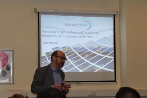 John Breslin updates delegates on activities at SmartBay Ireland: International WaTERS workshop, ICOE 2016
