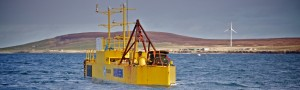 Tocardo TFS testing at EMEC tidal test site (Credit Colin Keldie)