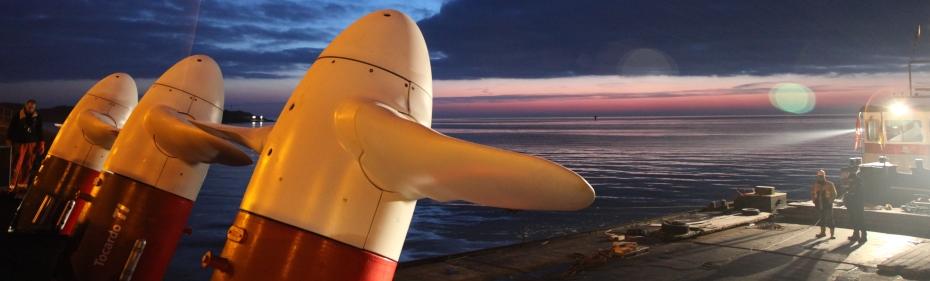 Tocardo's tidal turbines (Credit Tocardo)