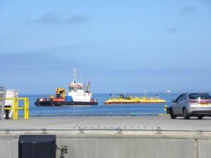 SR2000 arriving in Orkney, June 2016 (Credit EMEC)