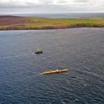 Scotrenewables' SR2000 being deployed at EMEC tidal test site, October 2016 (Credit Scotrenewables)