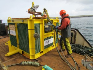 EMEC Integrated Monitoring Pod with Rockland MicroRider (Credit EMEC)