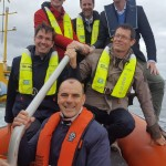 European Commission and Ocean Energy Europe visit Tocardo at EMEC Fall of Warness test site (Credit: Tocardo)