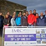 European Commission visit EMEC Billia Croo wave test site (Credit: Colin Keldie)