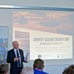 Neil Kermode speaking at EMEC Ocean Energy Day seminar (Credit: Colin Keldie)