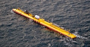SR2000 generating at EMEC Fall of Warness tidal test site (Credit Scotrenewables)