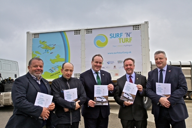 Launch of Orkney Sustainable Energy Strategy (Credit Colin Keldie)
