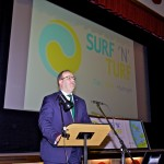 Orkney's Hydrogen Future Seminar, part of Surf n Turf launch, Sept 2017 (Credit Colin Keldie)
