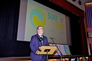 Orkney's Hydrogen Future Seminar, part of Surf n Turf launch, Sept 2017 (Credit Colin Keldie)