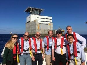 International WaTERS delegates from UK, Ireland, Japan, and Denmark visit PLOCAN