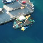 CorPower C3 WEC at Hatston Pier prior to deployment at EMEC Scapa Flow site (Credit: CorPower)