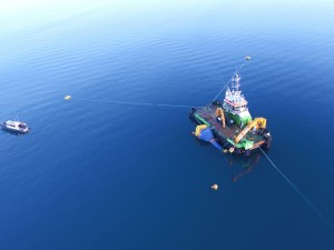 CorPower C3 WEC deployment at EMEC Scapa Flow site (Credit: CorPower)