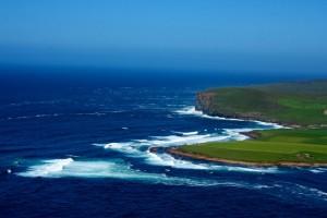 Aerial of EMEC Billia Croo wave test site (Credit Colin Keldie)