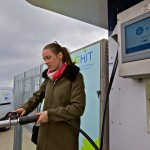 BIG HIT hydrogen refuelling station demonstration (Credit Colin Keldie)