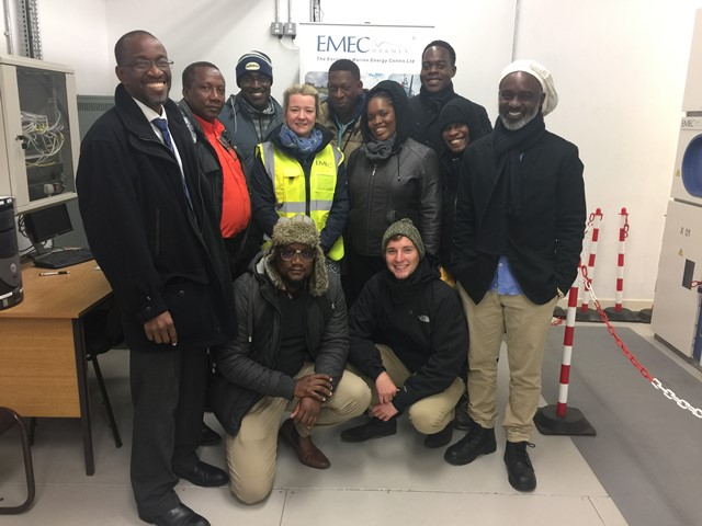 Government of Barbados visit to EMEC (Credit EMEC)