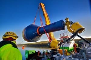 CorPower C3 WEC deployment at EMEC Scapa Flow site (Credit Colin Keldie)