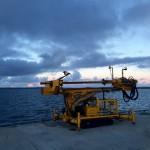 SME AROV prior to rock anchor install at EMEC (Credit SME)