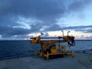 SME AROV prior to rock anchor install at EMEC (Credit SME) 640