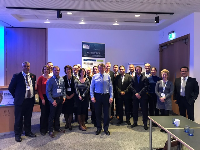 Participants at the MET-CERTIFIED Workshop at OEE 2018