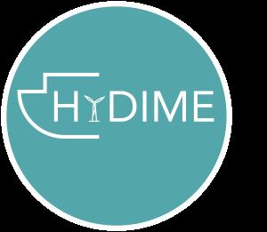 HyDIME Logo (Turq Background)