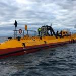 SR2000 floating tidal turbine at EMEC tidal test site (Credit: Orbital Marine Power)