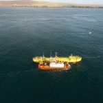 Magallanes Renovables ATIR connect to grid at EMEC (Copyright Colin Keldie)