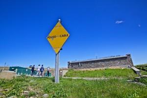 Power cable marker at EMEC Billia Croo wave test site (Credit Colin Keldie)