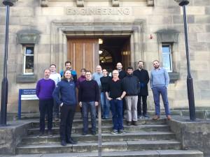 RESOURCECODE consortium at Edinburgh University 2019