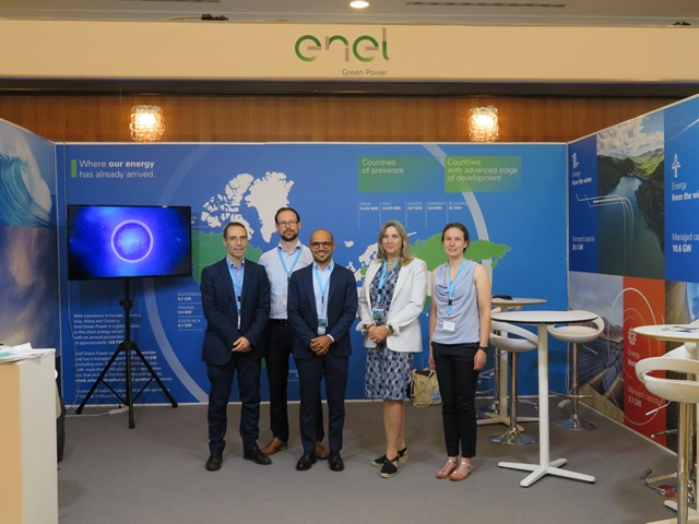 EMEC & Enel Green Power collaboration at EWTEC 2019 (Credit, EGP)