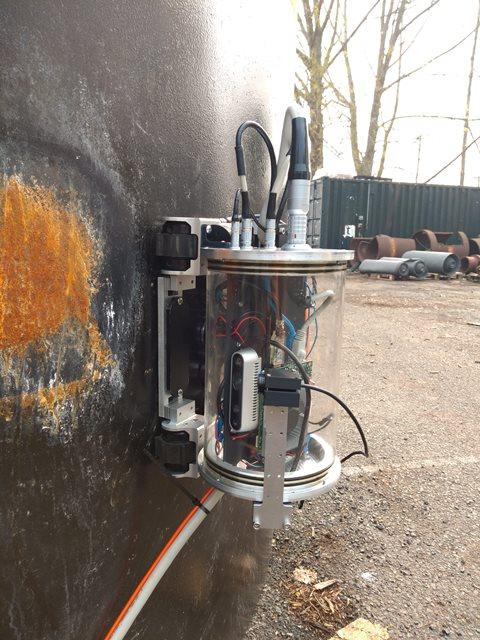 RoBFMS prototype robot (Credit InnoTecUK)