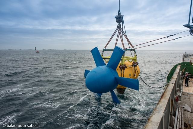 Sabelle tidal turbine (Credit Sabella)